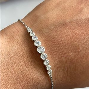 NWT authentic KS Silver bracelet